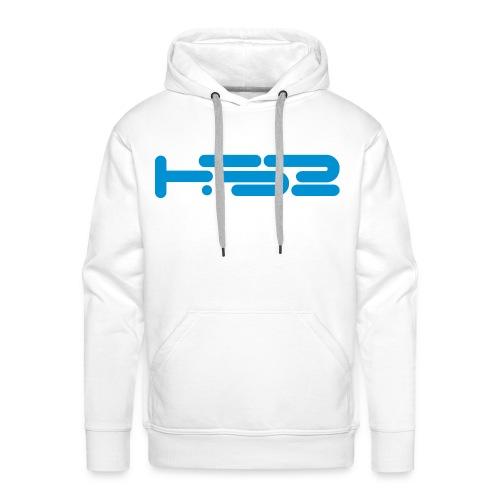 Mens White Hoodie - Men's Premium Hoodie