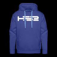 Hoodies & Sweatshirts ~ Men's Premium Hoodie ~ Mens Blue Hoodie