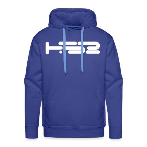 Mens Blue Hoodie - Men's Premium Hoodie
