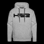 Hoodies & Sweatshirts ~ Men's Premium Hoodie ~ Mens Heather Grey Hoodie