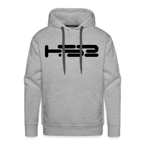 Mens Heather Grey Hoodie - Men's Premium Hoodie