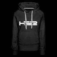 Hoodies & Sweatshirts ~ Women's Premium Hoodie ~ Ladies Black Hoodie