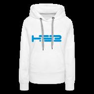 Hoodies & Sweatshirts ~ Women's Premium Hoodie ~ Ladies White Hoodie