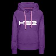Hoodies & Sweatshirts ~ Women's Premium Hoodie ~ Ladies Purple Hoodie
