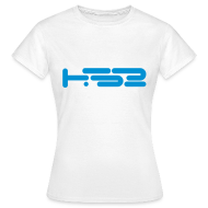 T-Shirts ~ Women's T-Shirt ~ Ladies White Tee