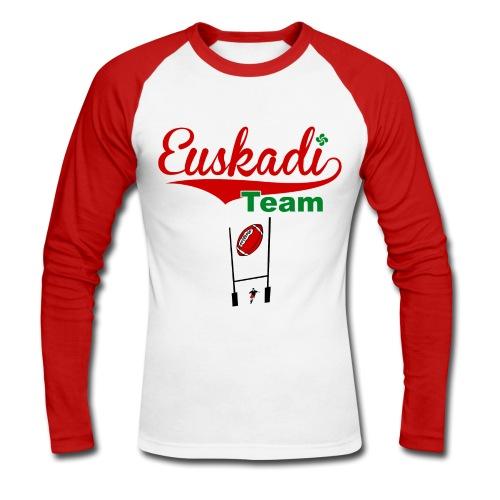 Euskadi team tee shirt - T-shirt baseball manches longues Homme