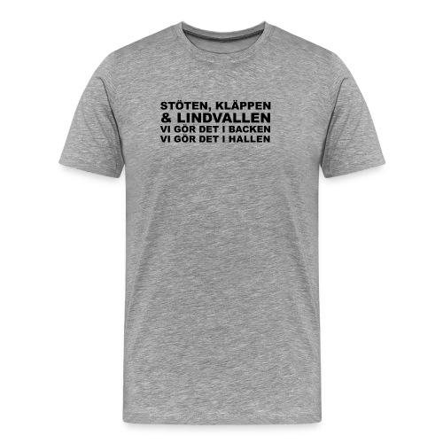 Stöten & Kläppen - Premium-T-shirt herr