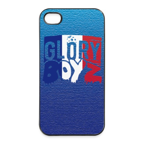 Glory Boyz France iPhone 4/4s Case - iPhone 4/4s Hard Case