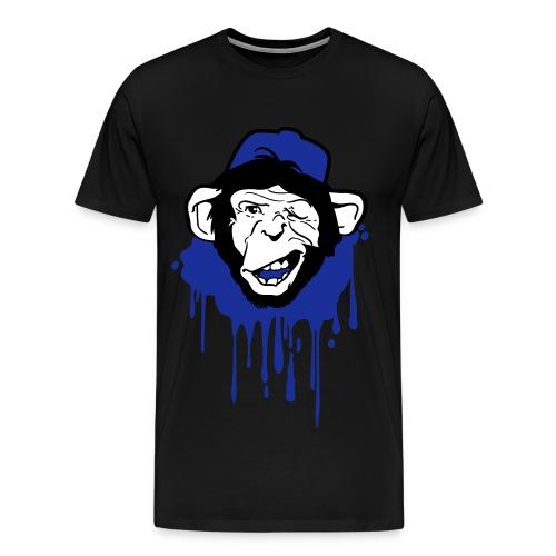 Affe-Dickhoiter - Männer Premium T-Shirt