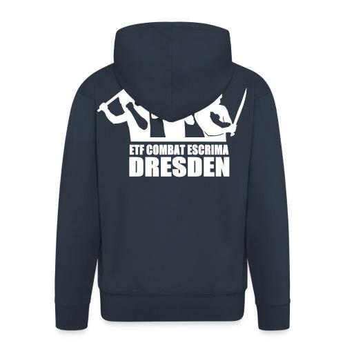 Jacke Kapuze Dresden - Männer Premium Kapuzenjacke