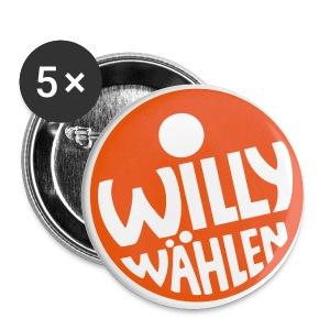 Buttons klein 25 mm - Design © Harry Walter, 1972  Weitere Farbkombinationen und Motivgrößen kannst du in unserem SPD-Designershop erstellen! Hier gibt es auch noch mehr Produkte zur Auswahl!