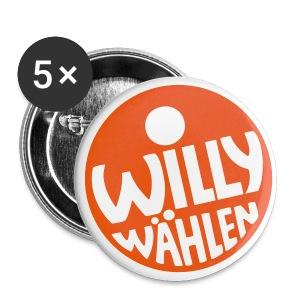 Buttons groß 56 mm - Design © Harry Walter, 1972  Weitere Farbkombinationen und Motivgrößen kannst du in unserem SPD-Designershop erstellen! Hier gibt es auch noch mehr Produkte zur Auswahl!