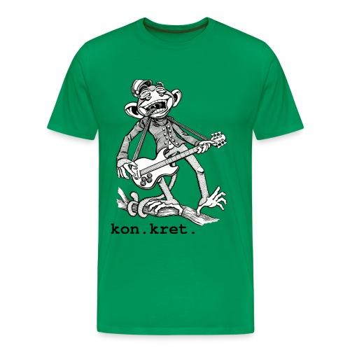 Shirt Monkey - Männer Premium T-Shirt