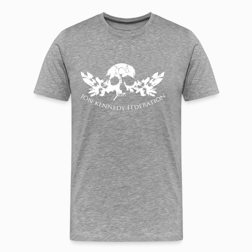 Men's Premium T-Shirt - we're just waiting for you now,useless wooden toys,tru thoughts,trip hop,take my drum to england,jon kennedy federation,jon kennedy,grand central,bonobo,14