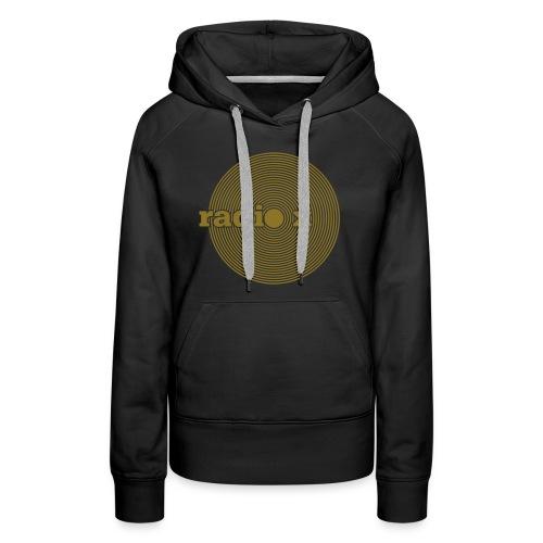 DISC Gold - metallic / Kapuzenpulli - Frauen Premium Hoodie