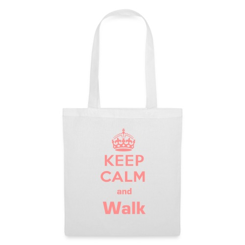 Keep Calm and Walk - Borsa di stoffa
