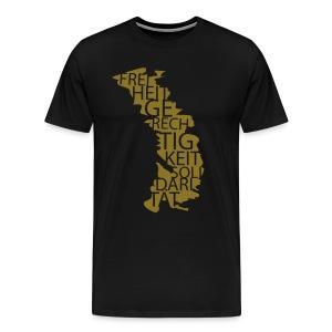Männer Premium T-Shirt - Weitere Farbkombinationen und Motivgrößen kannst du in unserem SPD-Designershop erstellen! Hier gibt es auch noch mehr Produkte zur Auswahl!