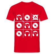 T-Shirts ~ Men's T-Shirt ~ White Tris TS Man
