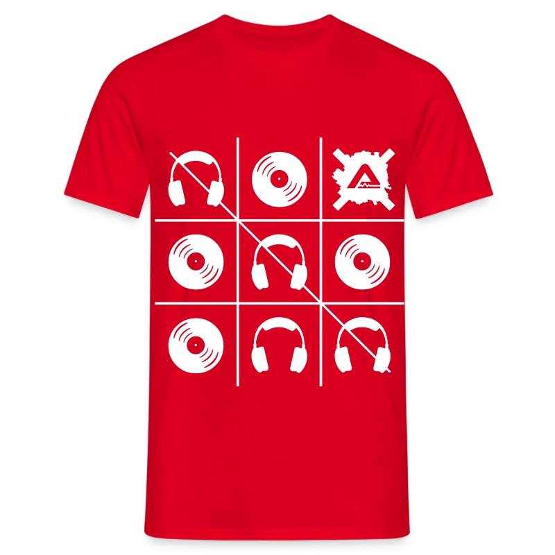 White Tris TS Man - Men's T-Shirt