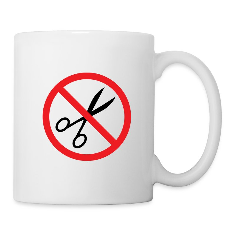 No Cuts Mug (classic BOS Logo on back) - Mug