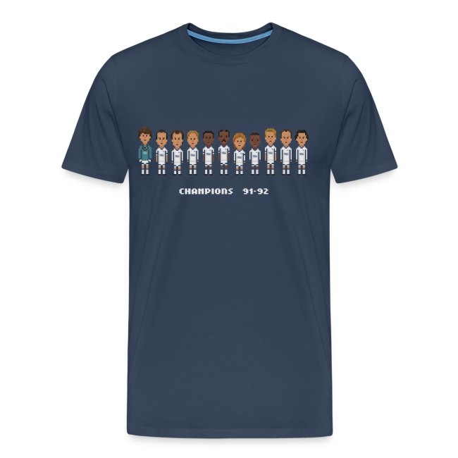 Men T-Shirt - Champions of England 91-92