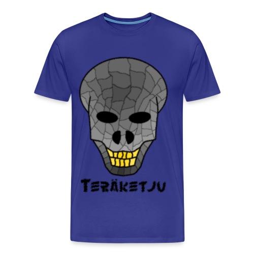 Ufokallo - Miesten premium t-paita