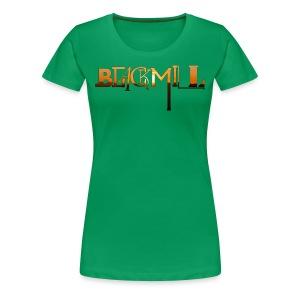Fonts Small - Women's - Women's Premium T-Shirt