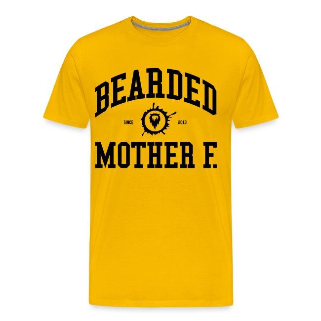 Bearded Mother F. - Men's Shirt (Black print)