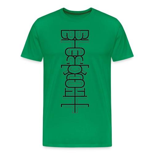 Flow Vertical - Men's - Men's Premium T-Shirt