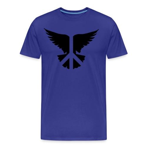 Peace Bird -Men's - Men's Premium T-Shirt