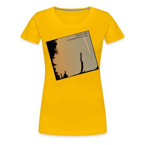 Back to Earth - Women's - Women's Premium T-Shirt