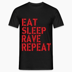 Eat Rave Sleep T-Shirts