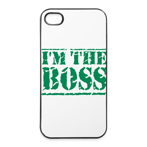 I'M THE BOSS IPHONE 4/4S CASE - iPhone 4/4s Hard Case