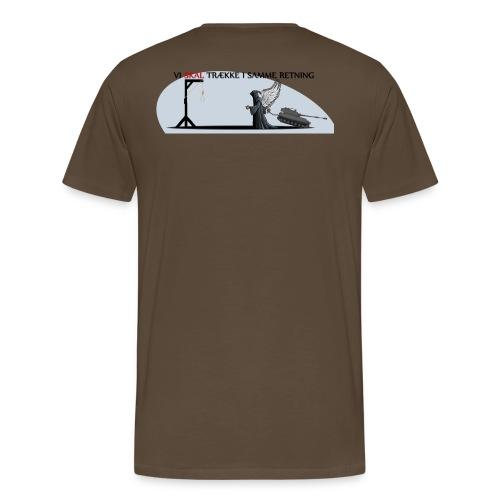 Vi SKAL trække i samme retning - Herre premium T-shirt