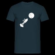 T-Shirts ~ Männer T-Shirt ~ Mondflug