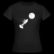 T-Shirts ~ Frauen T-Shirt ~ Mondflug
