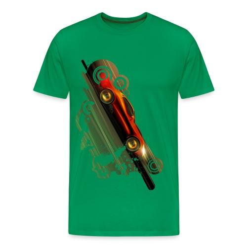 Rengine Concept-Orange - Men's Premium T-Shirt