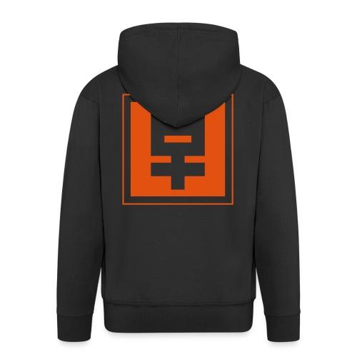 hoodie mit zipper - Men's Premium Hooded Jacket