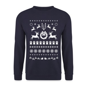 Retro Ugly Christmas Bothways - Mannen sweater