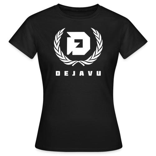 DejaVu Schwarz Lorbeerkranz für Frauen - Frauen T-Shirt