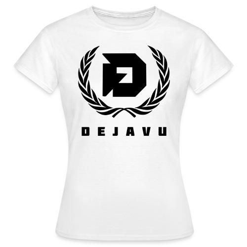 DejaVu Weiß Lorbeerkranz für Frauen - Frauen T-Shirt