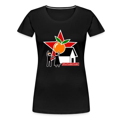 #hortoabertzale Xica - Camiseta premium mujer