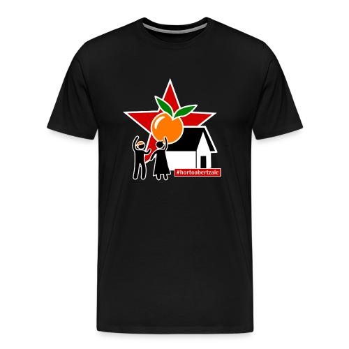 #hortoabertzale - Camiseta premium hombre