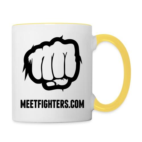 Fist mug - Contrasting Mug