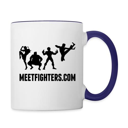 Fighters mug - Contrasting Mug