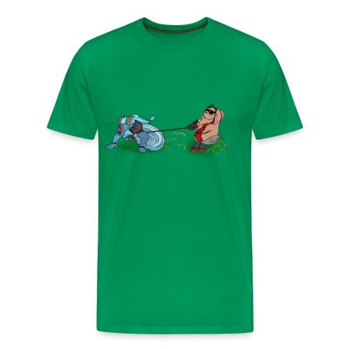 hooksurf - Men's Premium T-Shirt