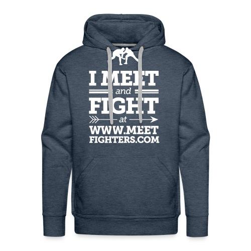Meet and Fight / Fighters hoodie - Men's Premium Hoodie