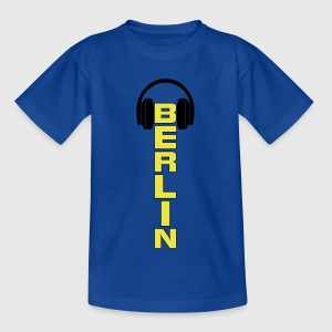 Berlin City DJ Music Dubstep Shirt T-Shirts - Teenager T-Shirt
