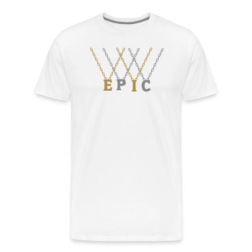 Epic, King, Cross - Männer Premium T-Shirt