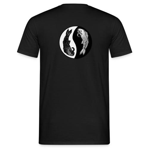 Koi fish Yin Yang - Men's T-Shirt